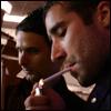 Tom Smoking