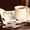 кофе и газеты