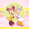 minnie & daisy = bffs