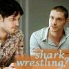 fififolle: Spooks - Dimitri Tariq Shark Wrestling?
