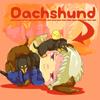 Prussia dachshund