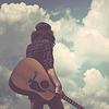 Stock: guitar boy
