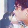 steph by steph: Koki with dog <3