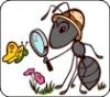 муравушка с лупой