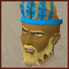 Wournos - blue chompy hat