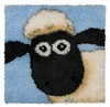 Shaun the acrylic sheep