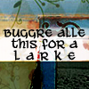 brassbell: good omens; buggre alle this for a larke