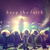 Baby we keep the faith eternally~