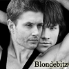 Blondebitz: SPN Sam & Dean Backwards Cuddle BW