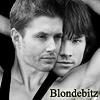 Blondebitz: SPN Sam & Dean Backwards Cuddle BW