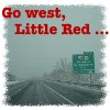 Little Red: go west little red