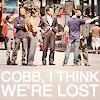 we're lost cobb! //Inception