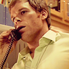 Dexter Morgan; blood spatter analyst.