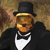 [misc] - Armored Tux and Top Hat