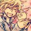 a_mbry0: fai&mokona hugs