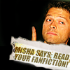 Misha says read your fanfiction