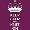 knit on keep calm