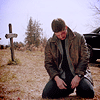 Dean  kneeling swans s - by xloz-91x