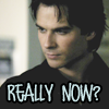 ThroughAnAmberFocus: Vampire Diaries--Damon--Really Now?