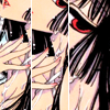 {xxxHolic} three shades of black red and