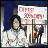 shut your mush: capes 50% off