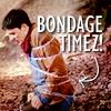 Loki: Merlin - bondage timez!