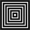 6 концентрических квадратиков