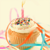 Denita: Birthday cupcake