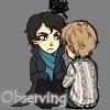 BBC Sherlock - Observing (Shimeji by 2 w