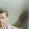 Castiel with Wings