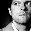 Mish: Castiel -- Hunted in B/W