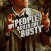 Cas people skills are rusty