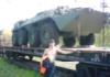 бронетехника на ст.Лёвшино(Пермь)
