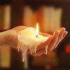 candle hand 2