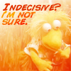 an idea is bulletproof: Fraggle - indecisive...