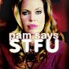 TB: Pam says STFU