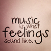Elle Blessingway: Music: Feelings Sound Like