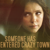 Vickie: TVD - Elena Someones Entered Crazy Town