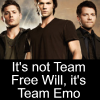 I need more fandoms like CKR needs more sexy: SPN- Team Emo