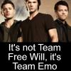 I need more fandoms like CKR needs more sexy: SPN- Team Emo