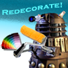 doctor who // redecorate!