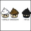 Vanilla, Ninja, Chocolate