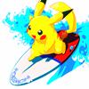 Surfing Pika