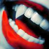 Manu: vampire teeth
