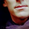 sherlock: the collar of his coat