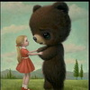 freaky bear