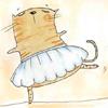 котэ-балерина