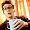 Doctor Who: Ten - uhh...with mug.