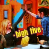 Community: Britta high five