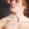 "fanservice Arthur ""dem lips"" Pendragon"